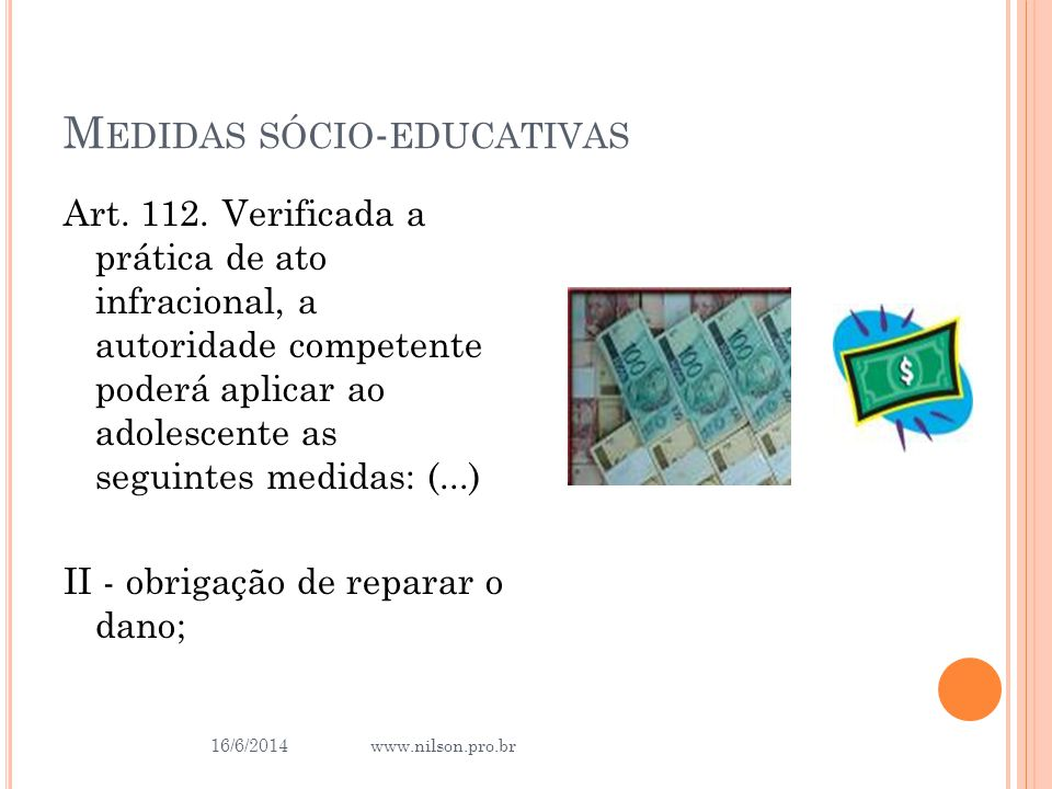 Medidas sócio-educativas
