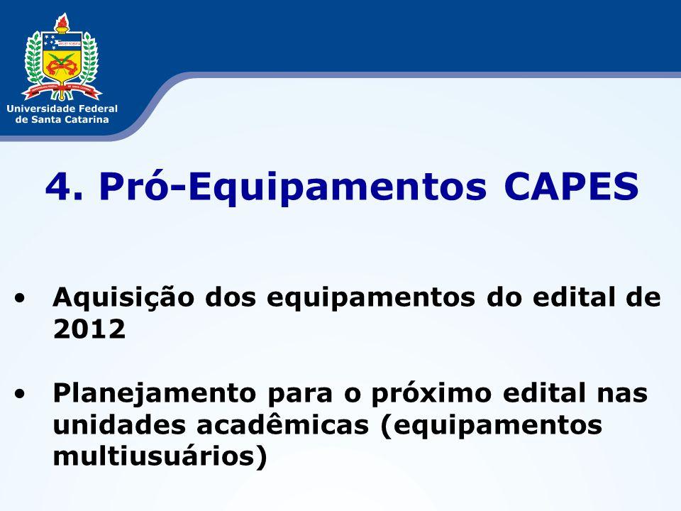 4. Pró-Equipamentos CAPES