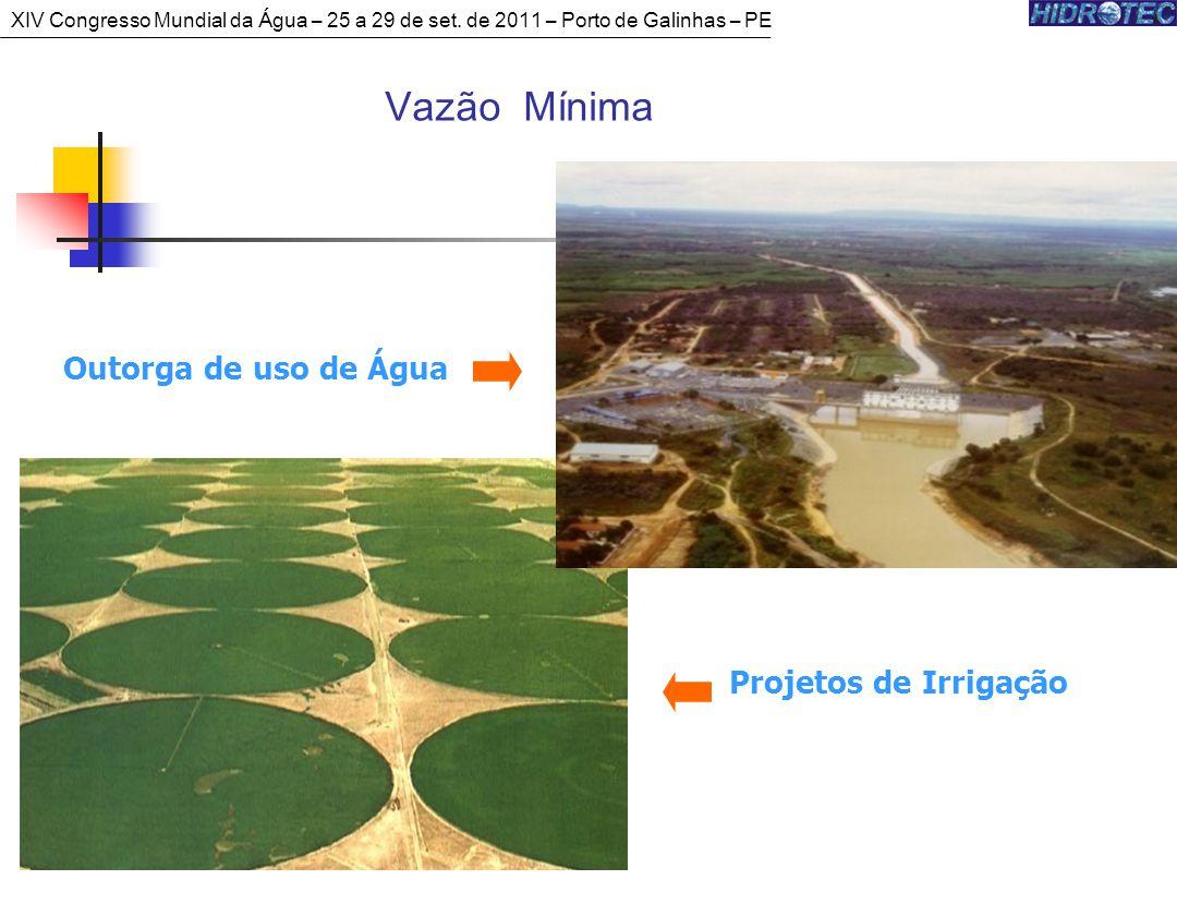 Vazão Mínima Outorga de uso de Água Projetos de Irrigação