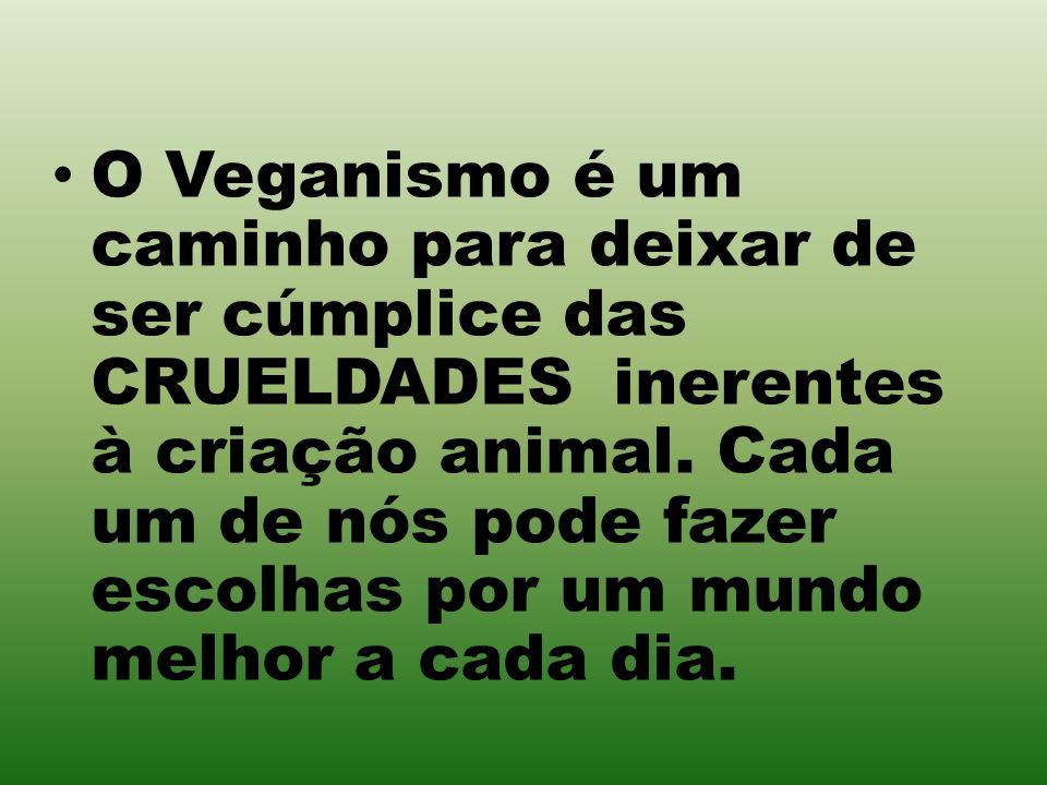 O Veganismo é um caminho para deixar de ser cúmplice das CRUELDADES inerentes à criação animal.