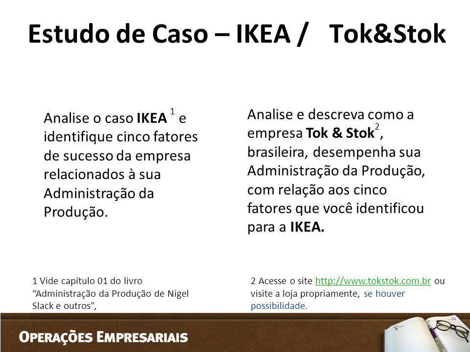 Estudo de Caso – IKEA / Tok&Stok