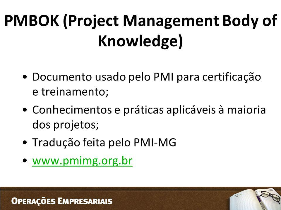 PMBOK (Project Management Body of Knowledge)