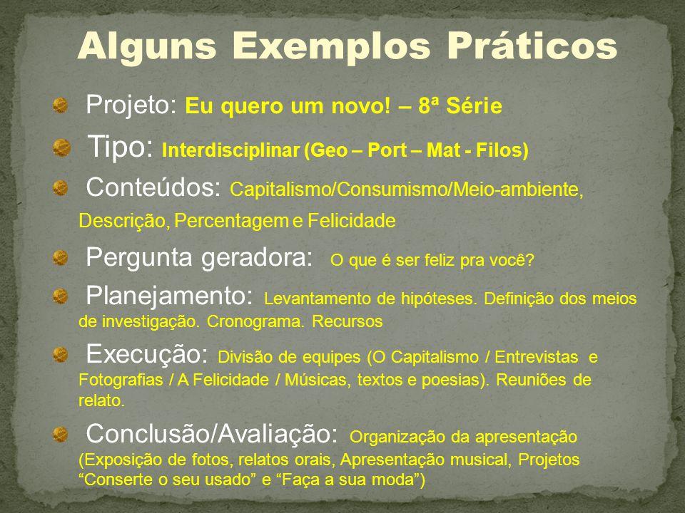 Alguns Exemplos Práticos