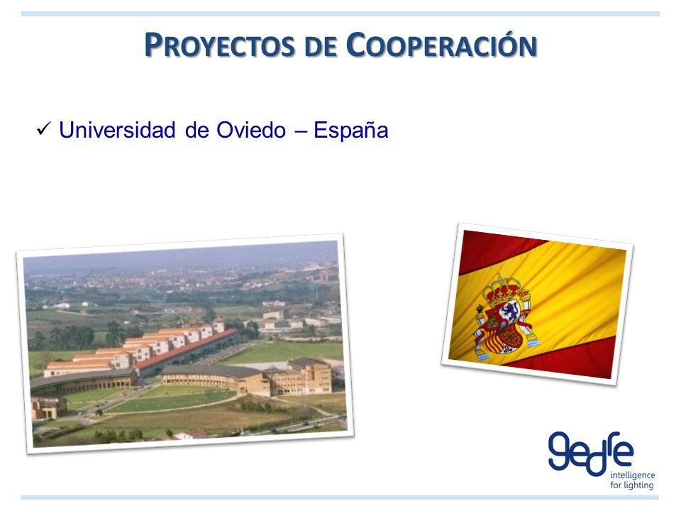 Proyectos de Cooperación