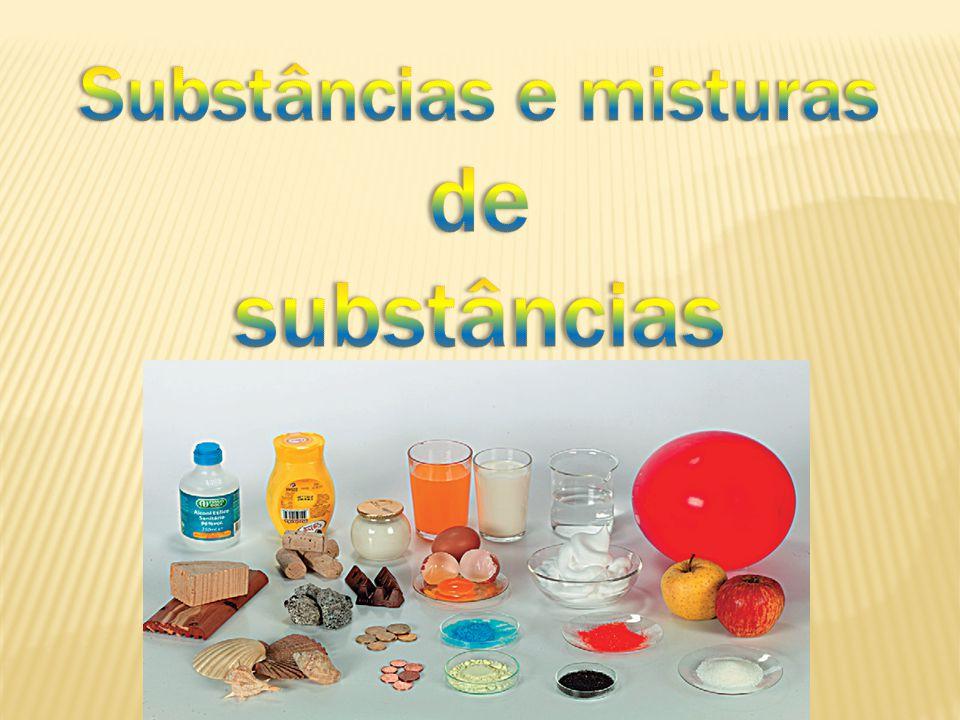 Substâncias e misturas de