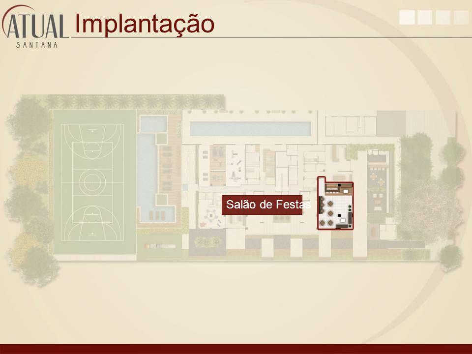 Implantação Salão de Festas