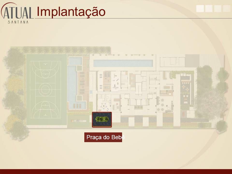 Implantação Praça do Bebê