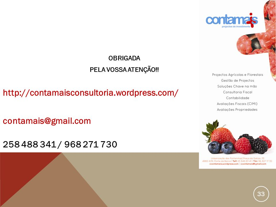 http://contamaisconsultoria.wordpress.com/ contamais@gmail.com
