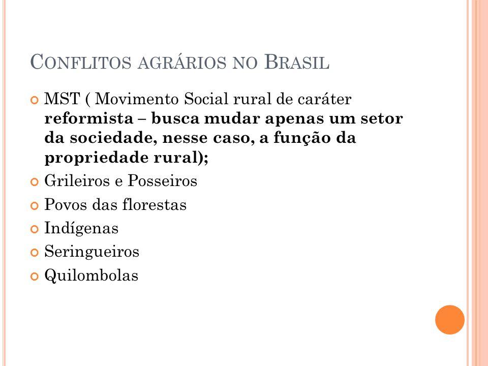 Conflitos agrários no Brasil