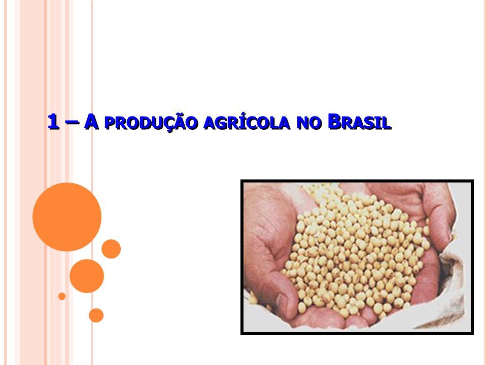 1 – A produção agrícola no Brasil