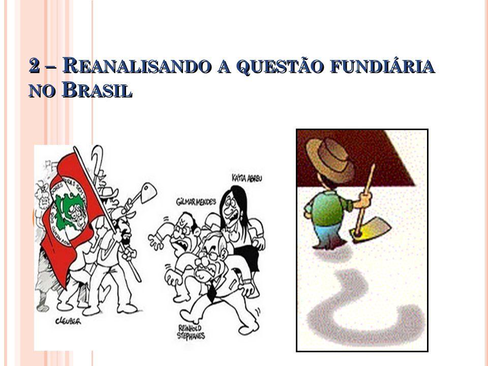 2 – Reanalisando a questão fundiária no Brasil
