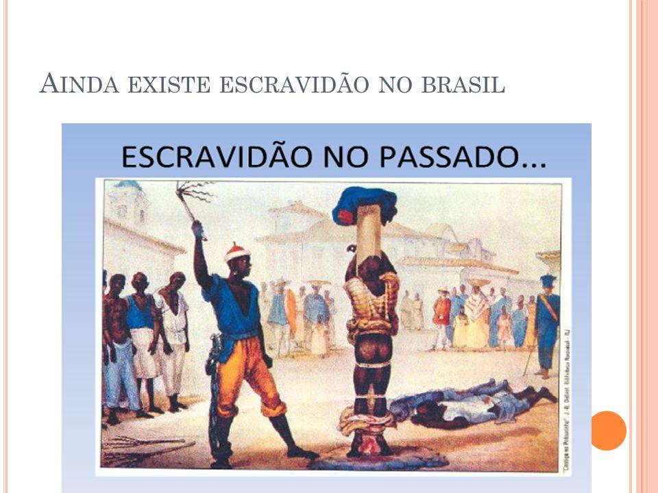 Ainda existe escravidão no brasil
