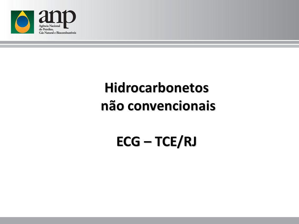 Hidrocarbonetos não convencionais ECG – TCE/RJ