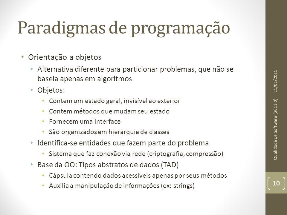 Paradigmas de programação