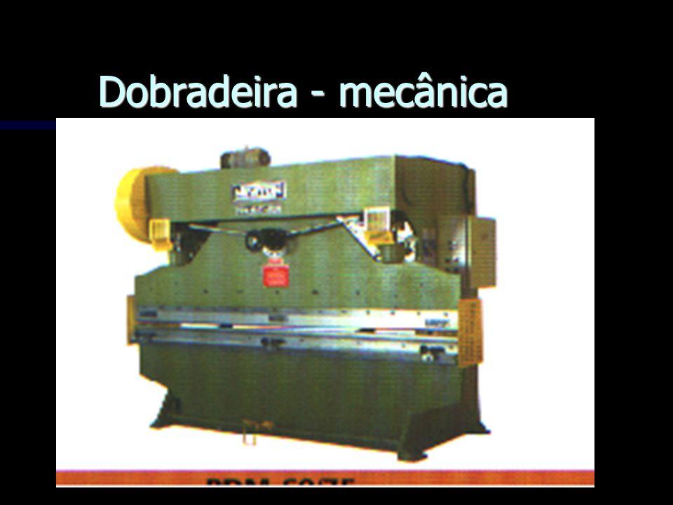 Dobradeira - mecânica