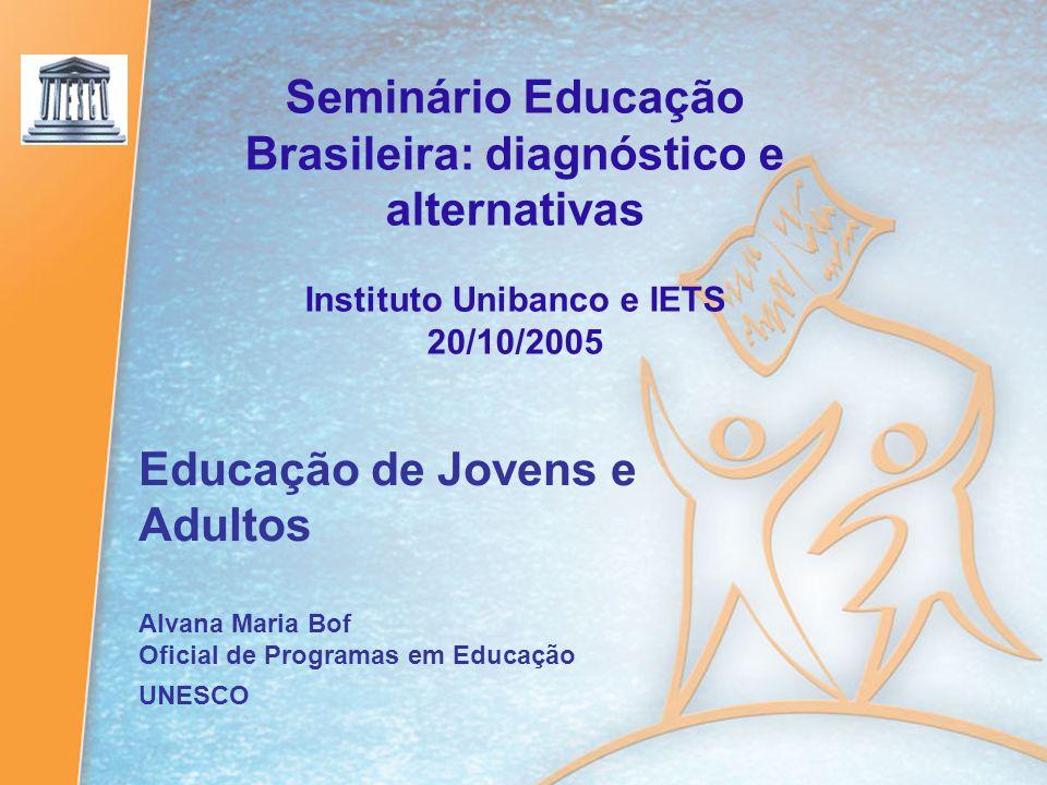 Seminário Educação Brasileira: diagnóstico e alternativas