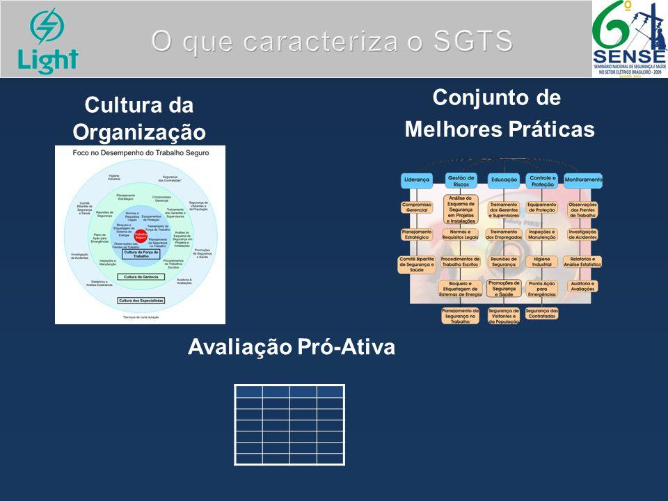 O que caracteriza o SGTS