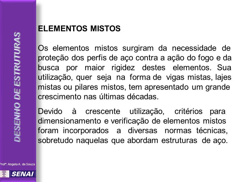DESENHO DE ESTRUTURAS ELEMENTOS MISTOS