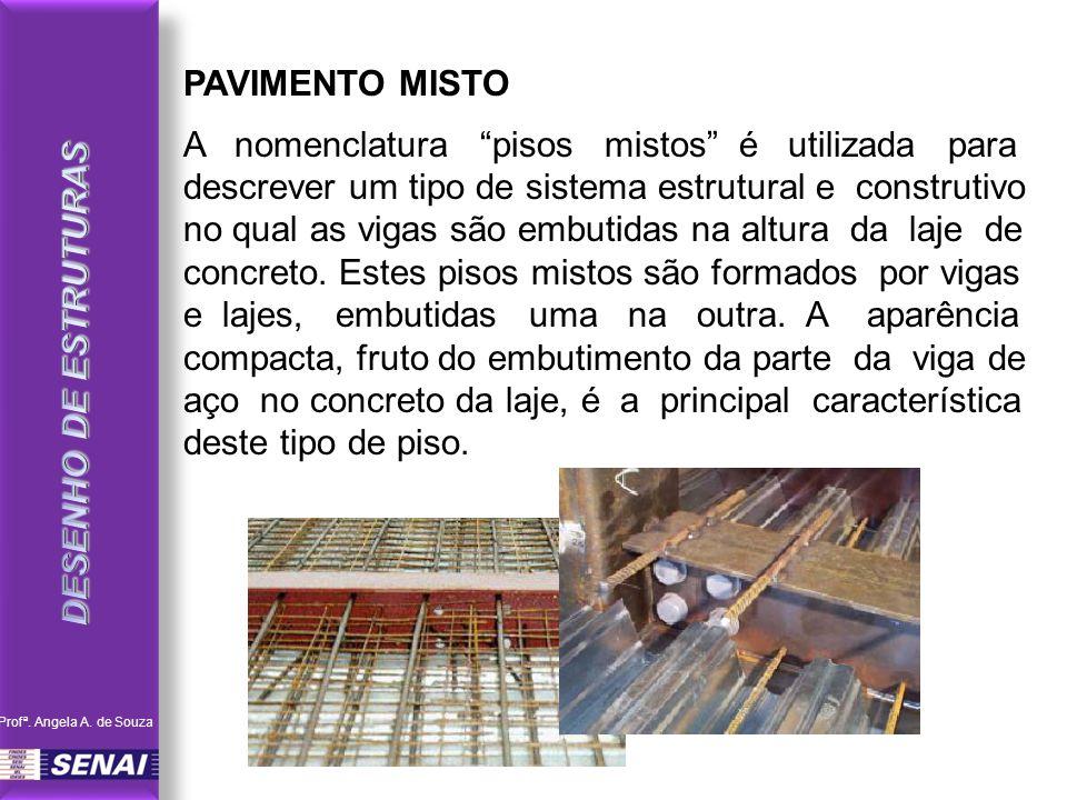 PAVIMENTO MISTO DESENHO DE ESTRUTURAS