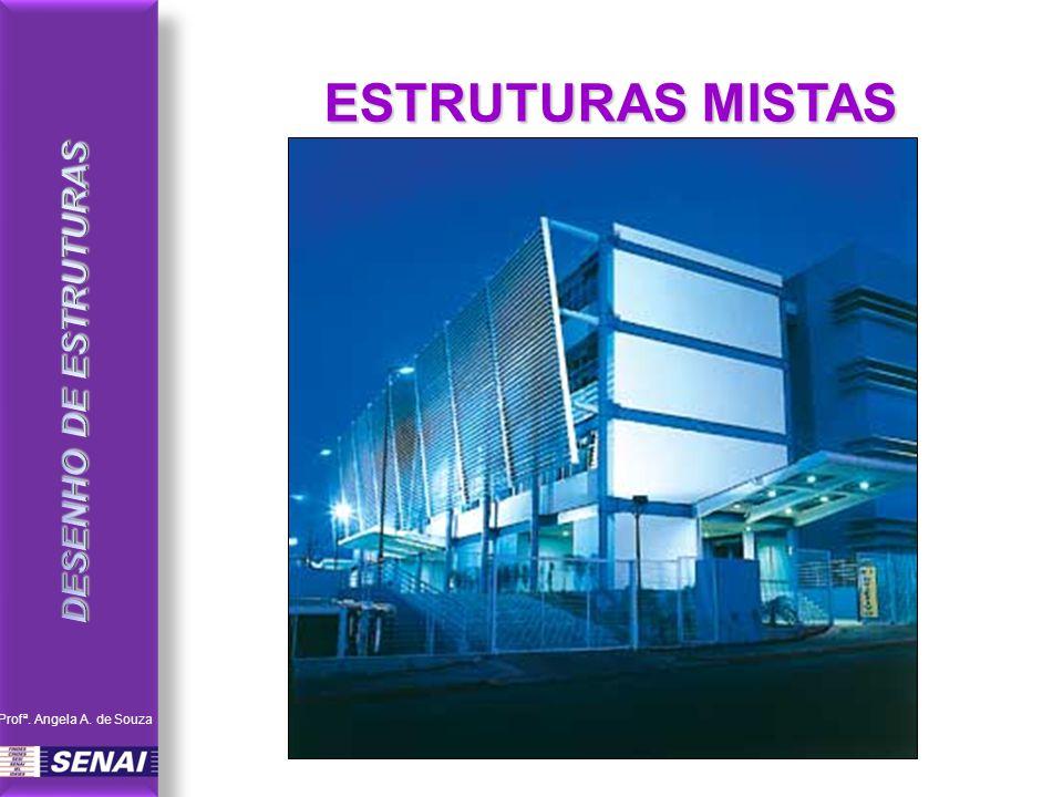 DESENHO DE ESTRUTURAS ESTRUTURAS MISTAS Profª. Angela A. de Souza