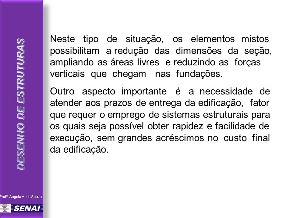 DESENHO DE ESTRUTURAS