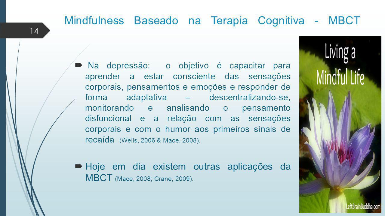 Mindfulness Baseado na Terapia Cognitiva - MBCT
