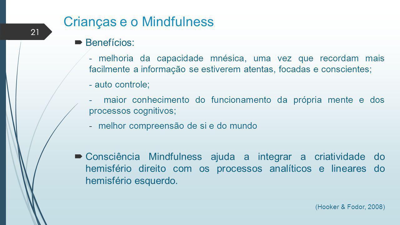 Crianças e o Mindfulness
