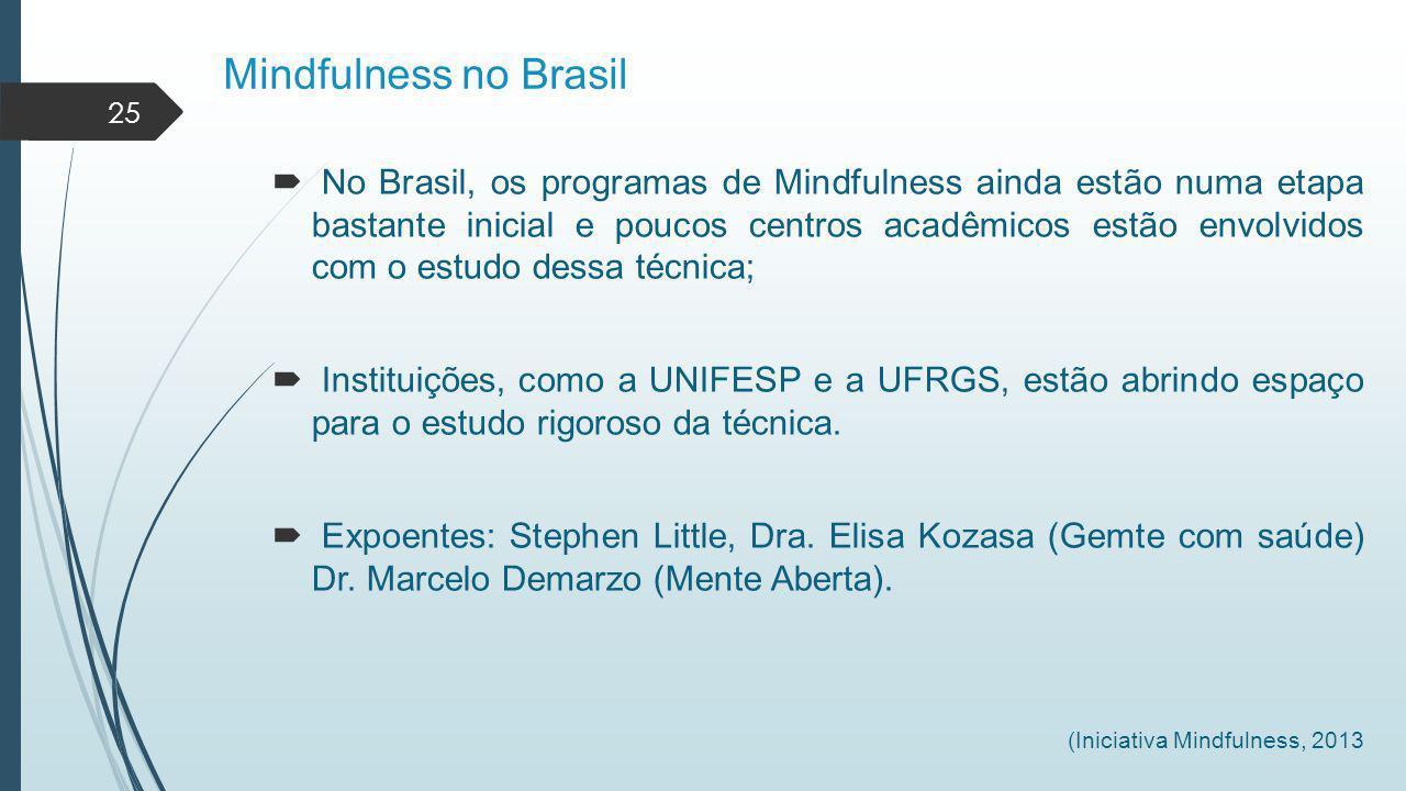 Mindfulness no Brasil