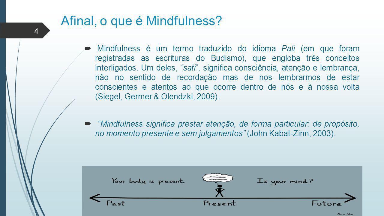 Afinal, o que é Mindfulness