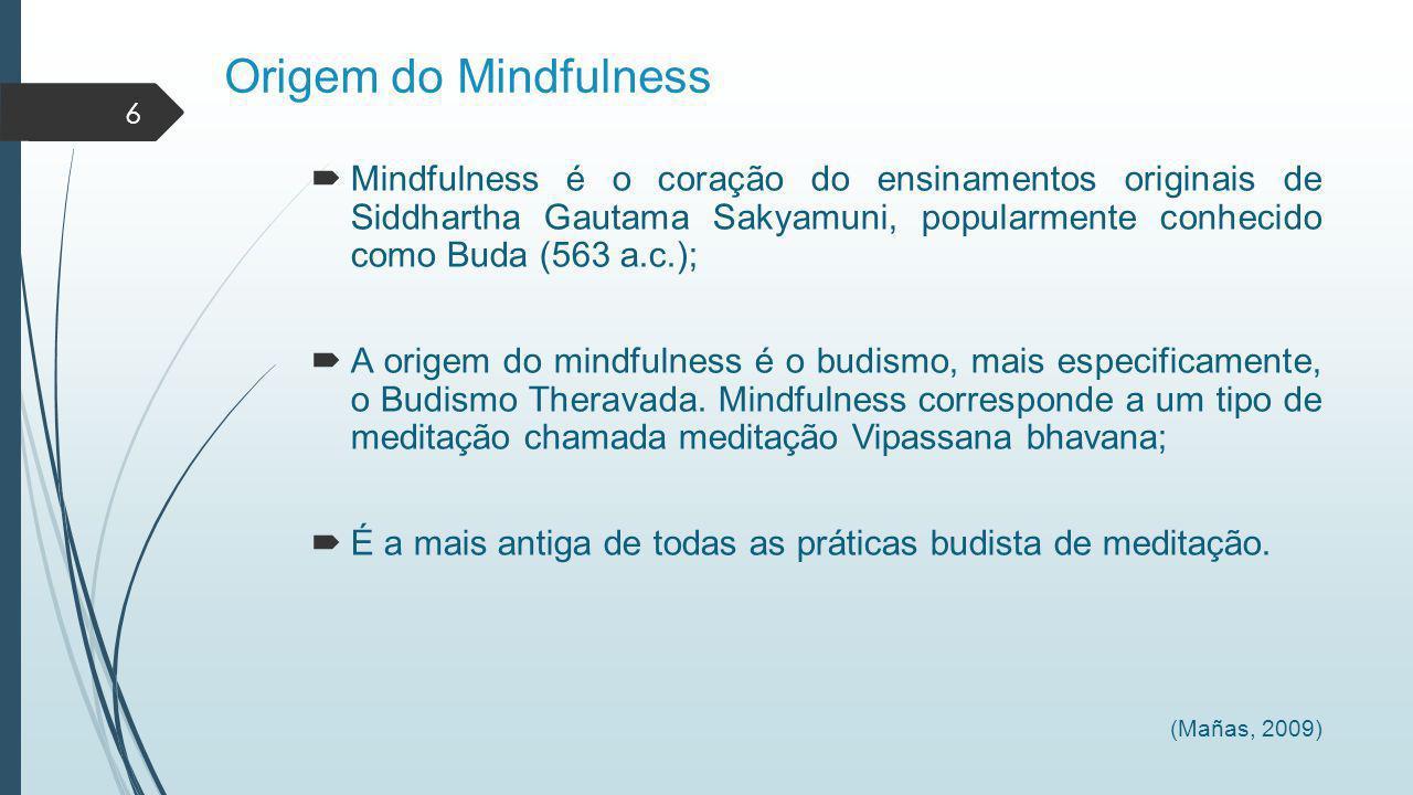 Origem do Mindfulness