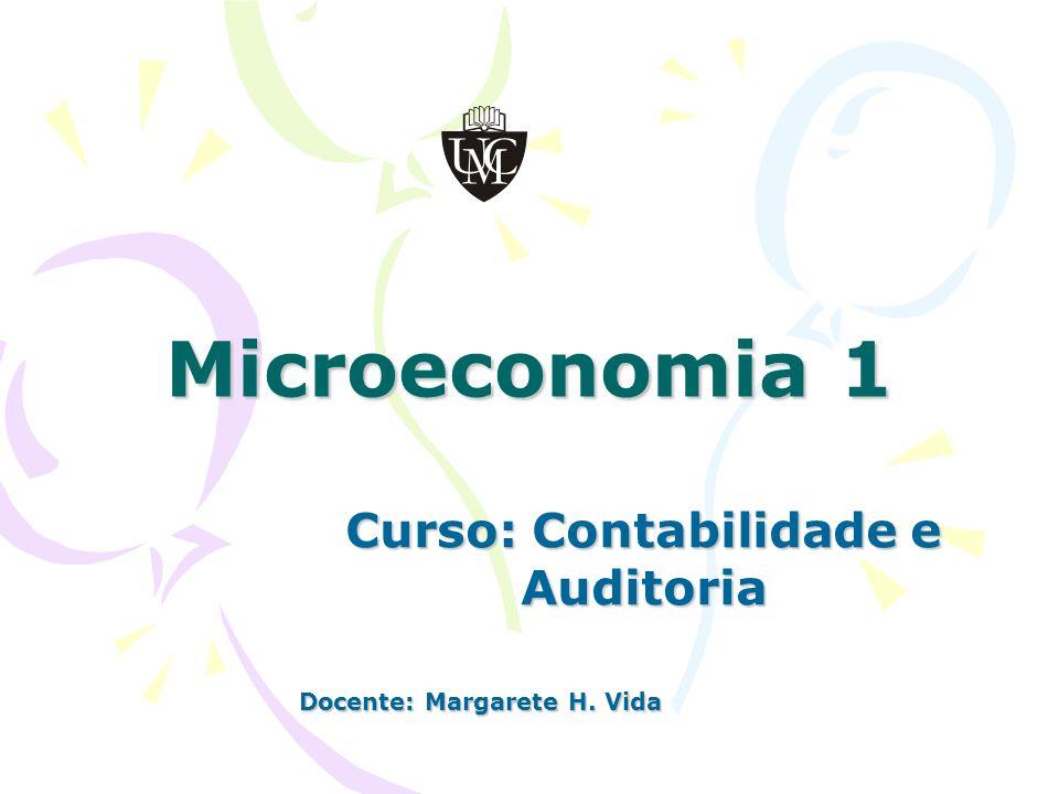 Curso: Contabilidade e Auditoria Docente: Margarete H. Vida