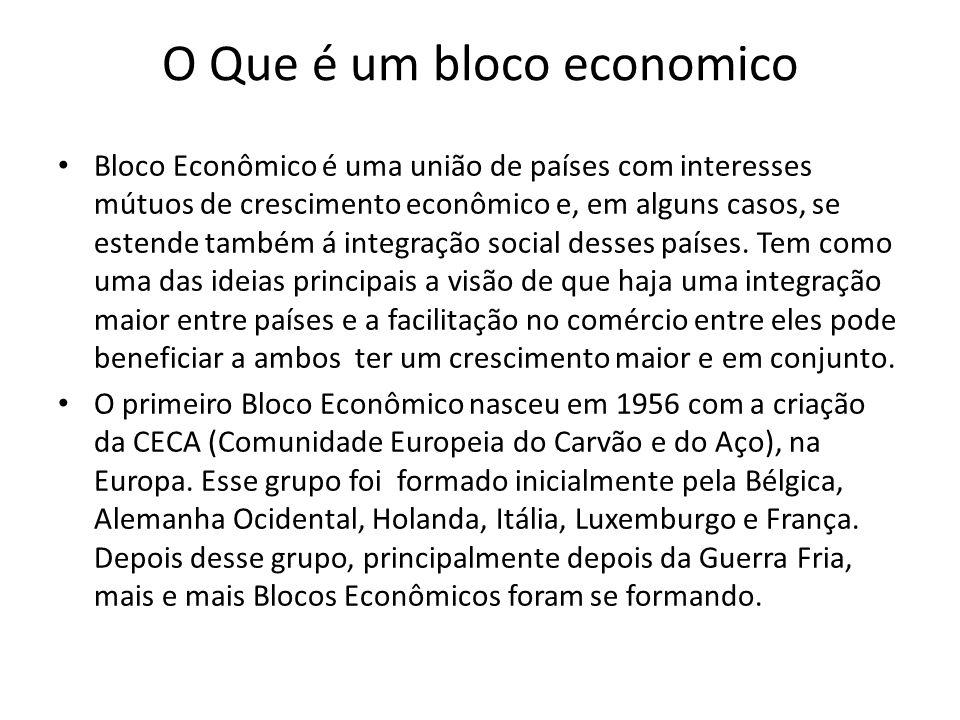 O Que é um bloco economico