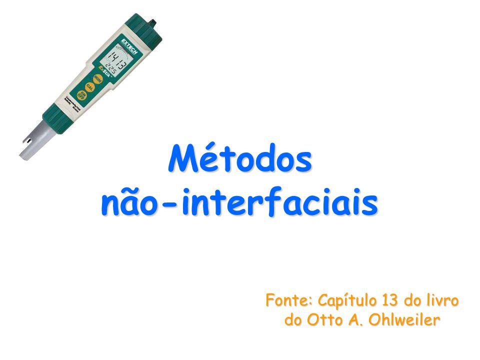 Métodos não‑interfaciais