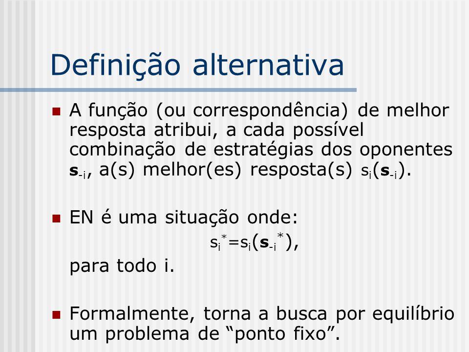 Definição alternativa