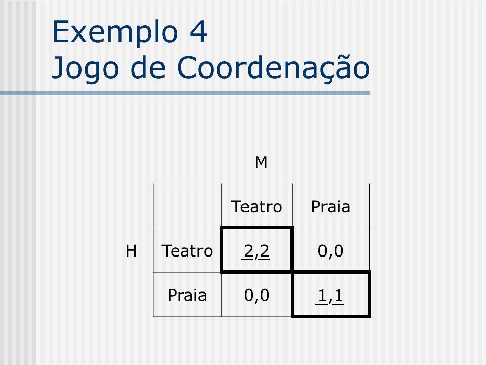 Exemplo 4 Jogo de Coordenação