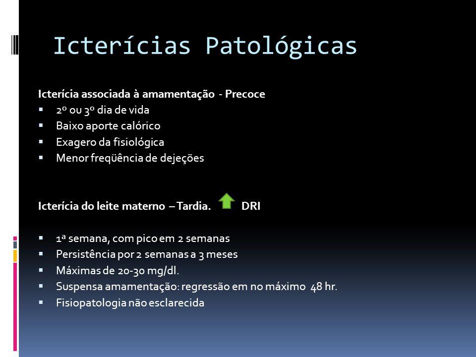 Icterícias Patológicas