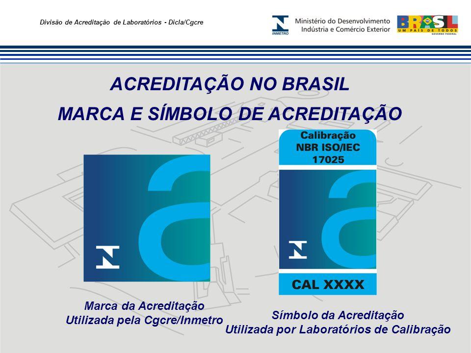 ACREDITAÇÃO NO BRASIL MARCA E SÍMBOLO DE ACREDITAÇÃO