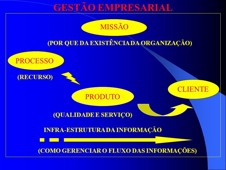 GESTÃO EMPRESARIAL MISSÃO PROCESSO CLIENTE PRODUTO