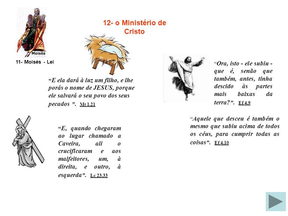 12- o Ministério de Cristo