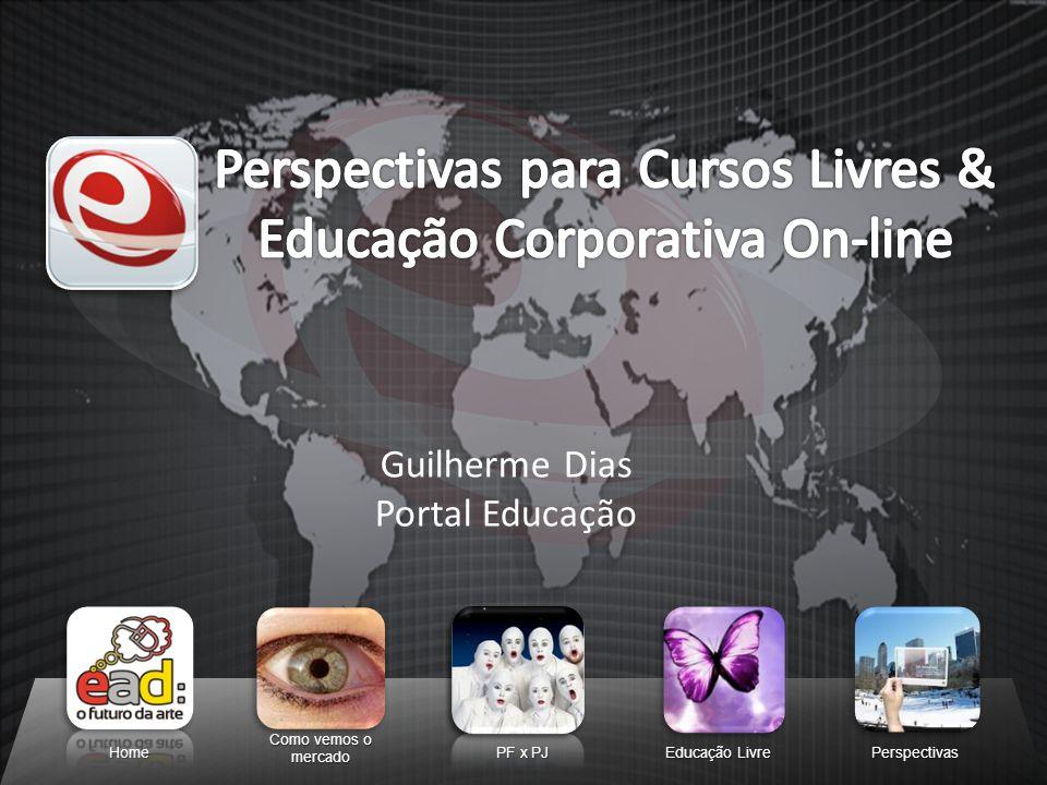Perspectivas para Cursos Livres & Educação Corporativa On-line