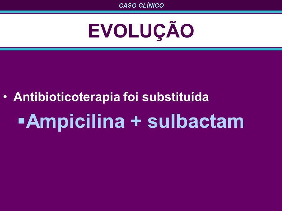 Ampicilina + sulbactam