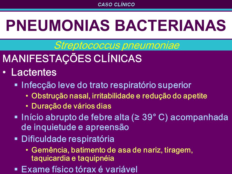 PNEUMONIAS BACTERIANAS