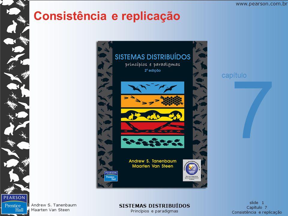 7 Consistência e replicação capítulo Andrew S. Tanenbaum