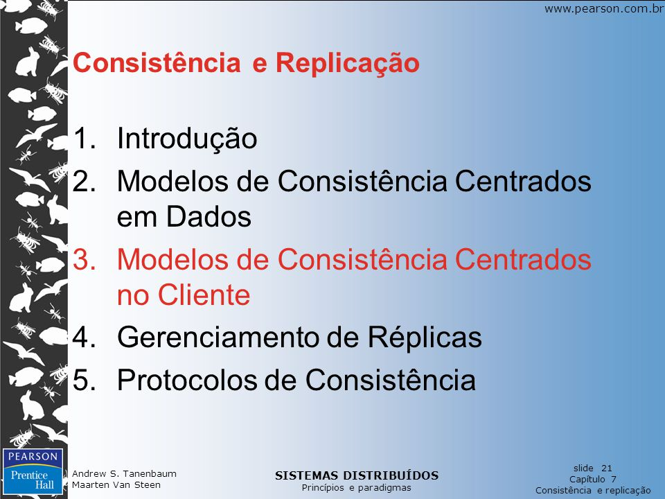 Consistência e Replicação