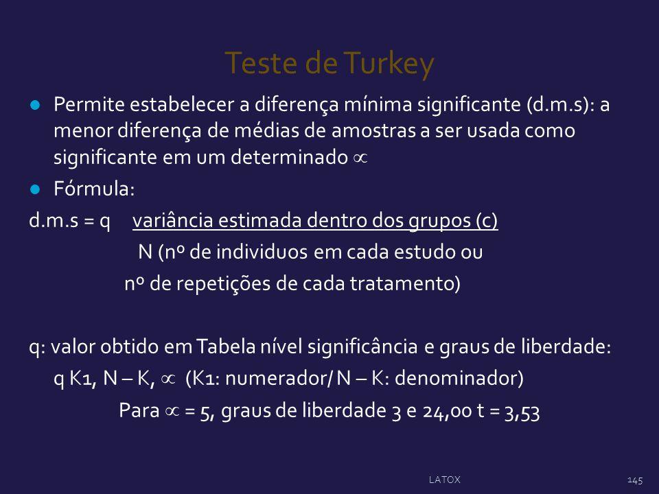 Para  = 5, graus de liberdade 3 e 24,00 t = 3,53