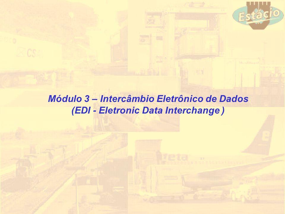 Módulo 3 – Intercâmbio Eletrônico de Dados (EDI - Eletronic Data Interchange )