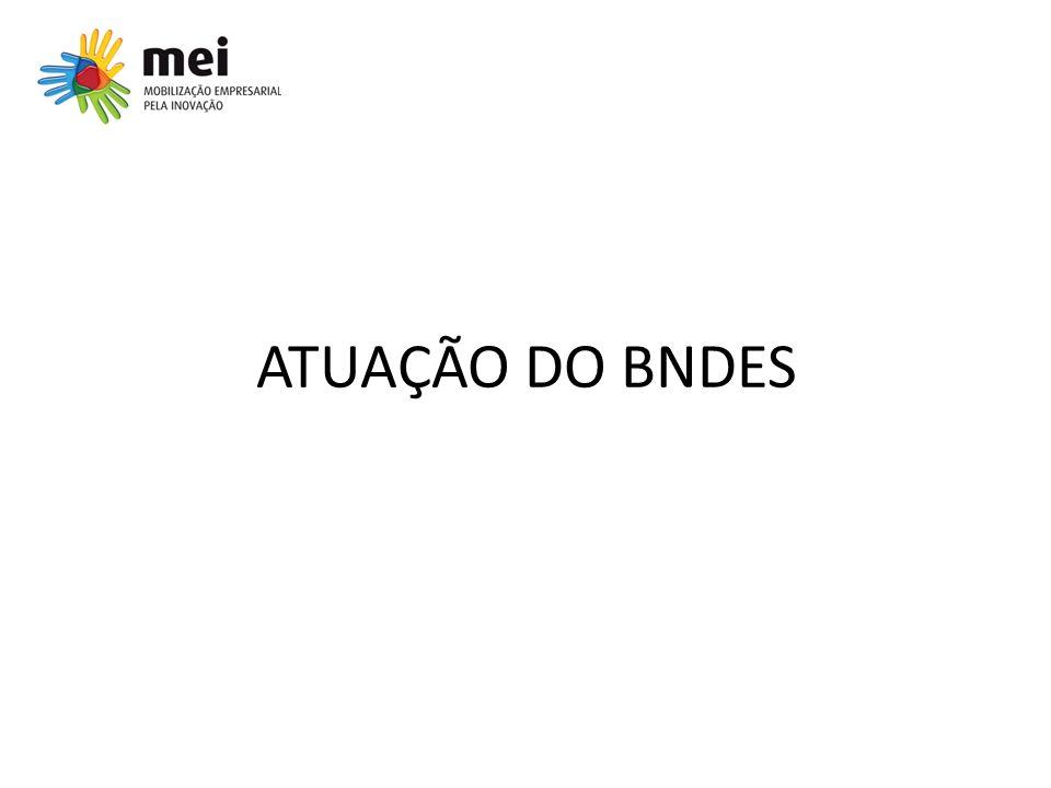 ATUAÇÃO DO BNDES
