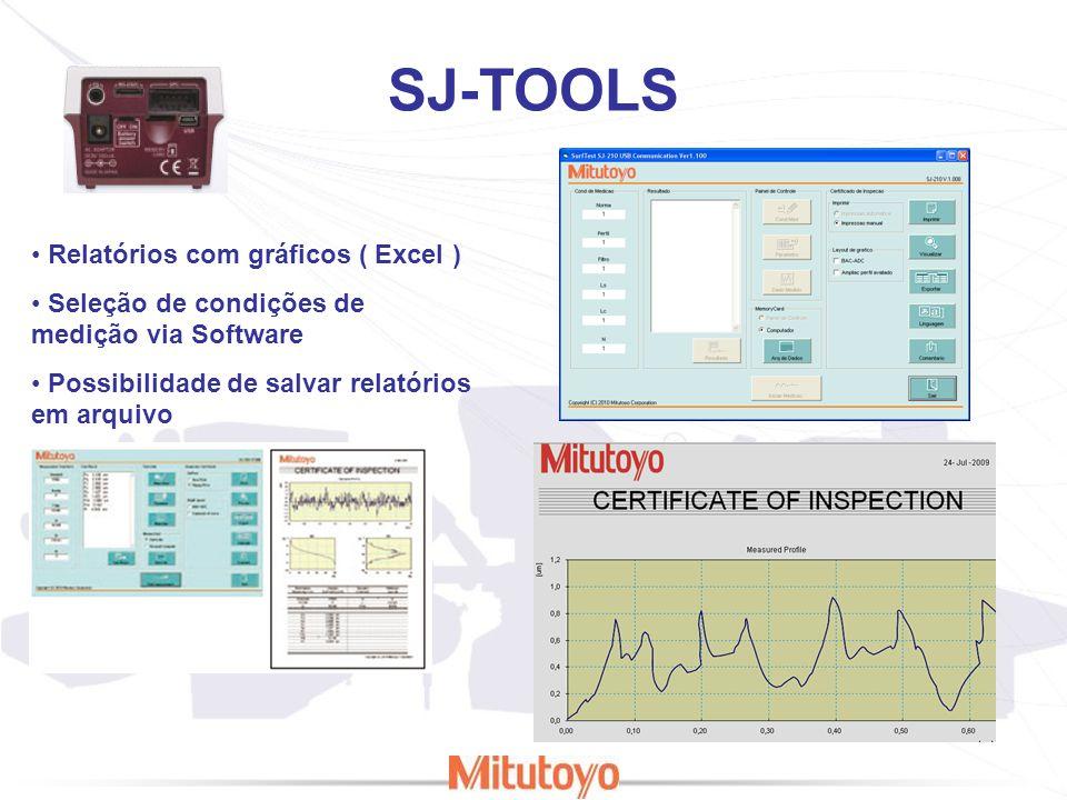 SJ-TOOLS Relatórios com gráficos ( Excel )