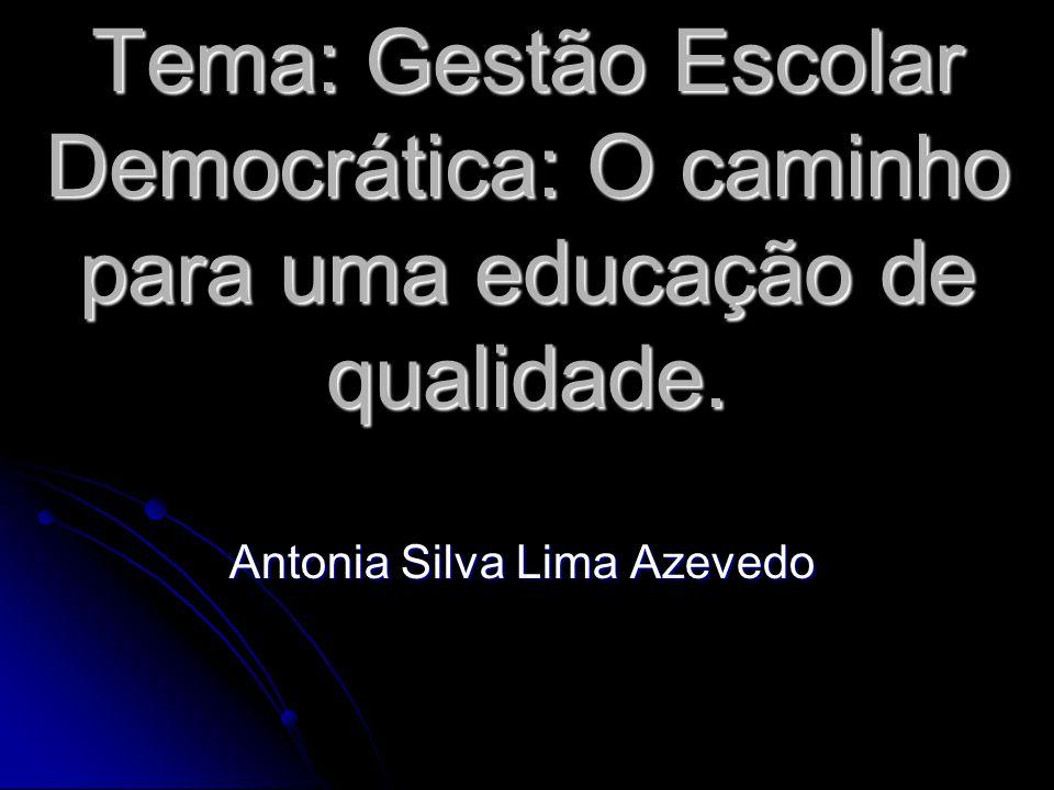 Antonia Silva Lima Azevedo