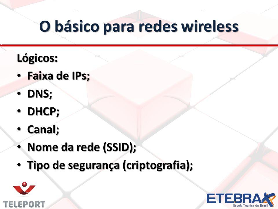 O básico para redes wireless